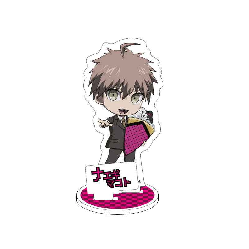 Anime Danganronpa V3 Display Stand Figure Model Plate Holder Japanese Cartoon Figure Acrylic Collection Jewelry Christmas Gift