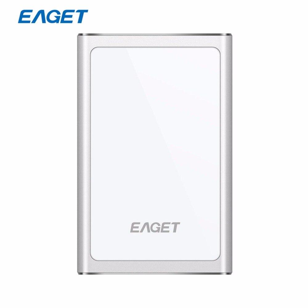 """Eaget g90 2.5 """"HDD ультра-тонкий USB 3.0 High Скорость Внешние жёсткие диски Портативный 500 ГБ 1 ТБ противоударный мобильный жесткий диск HDD"""