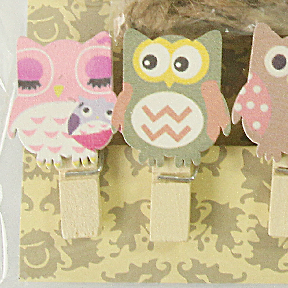 10 picslot kawaii owl wooden clip photo paper craft diy clips 10 picslot kawaii owl wooden clip photo paper craft diy clips with hemp rope fod in clips from office school supplies on aliexpress alibaba group jeuxipadfo Choice Image