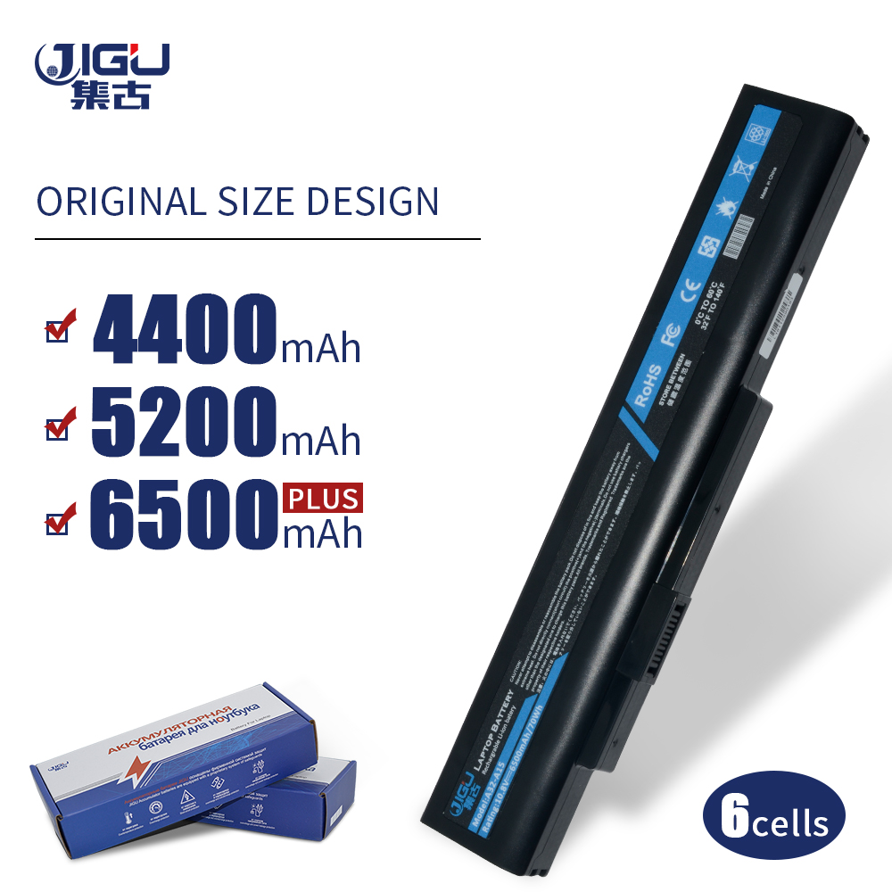 JIGU 6 A42-H36 A42-A15 A41-A15 A32-A15 célula de Bateria Do Portátil Para Série MSI Para Akoya E6201 E6228 E7219
