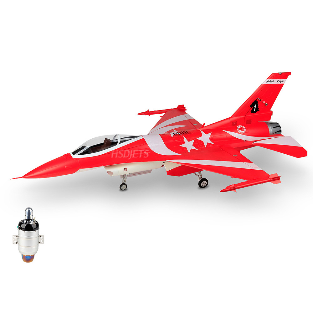 F 16 BLACK KNIGHT RC JET Camouflage Airplane 6/K60 Turbine Engine RC Fixed Wing Jetcat Airplane PNP/ARF