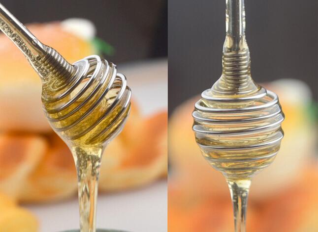 Nieuwe Aankomen Rvs Honing Lepel Stok Keuken Honing Roer Bar Roerstokje Eiklopper Garde Mixing Tool