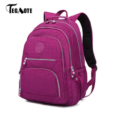 TEGAOTE Female Backpack Women School Bagpack for Teenage Girls Mochila Feminina  Laptop Backpacks Travel Bags Casual Sac A Dos