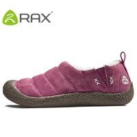 Women Non slip Warm Plush Walking Shoes Mens Outdoor Winter Slip On Fur Cotton Sneakers Comfortable Soft Shoes AA12347