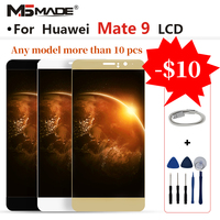 Original For Huawei Mate 9 LCD MHA L09 MHA L29 LCD Display Touch Screen Digitizer Assembly Parts With Frame For Mate 9 Display
