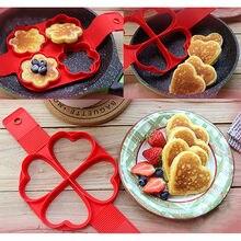 Non Stick Flippin' Fantastic Nonstick Pancake Maker Egg Ring Maker Kitchen Perfect Pancakes Easy Flip Breakfast Omelette Tools