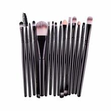 15Pcs Makeup Brushes Set 2018 Eye Shadow Brow Eyeliner Eyelash Lip Foundation Power Cosmetic Make Up