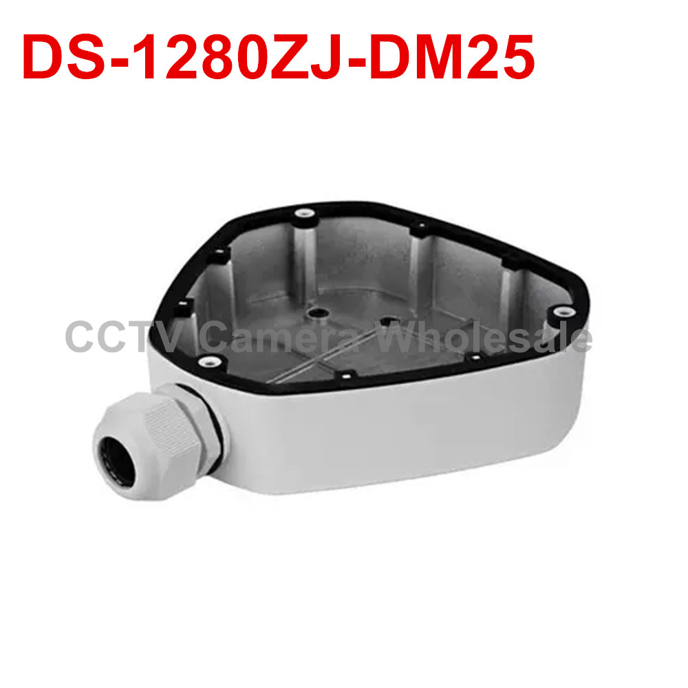 DS-1280ZJ-DM25 junction box for fisheye camera DS-2CD63C2F-IVS DS-2CD6332FWD-IVS DS-2CD63C2F-IVS ds 1602zj box pole ptz camera vertical pole mount bracket with junction box