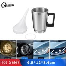 Vehemo Stainless Steel for Tool Car Heating Cup Restoration Heating Cup Heating Cup Repair Headlight Car Heating Atomization стоимость