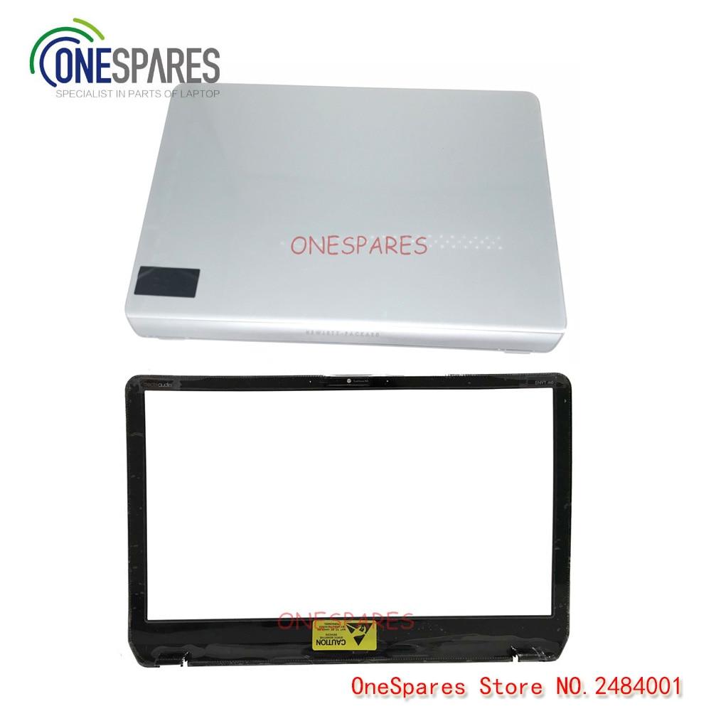 جلد ال سی دی لپ تاپ و جلد بزی برای HP Pavilion Envy M6 M6-1000 Series Cover Cover Silver 690231-001 AP0R1000110 AB Shell