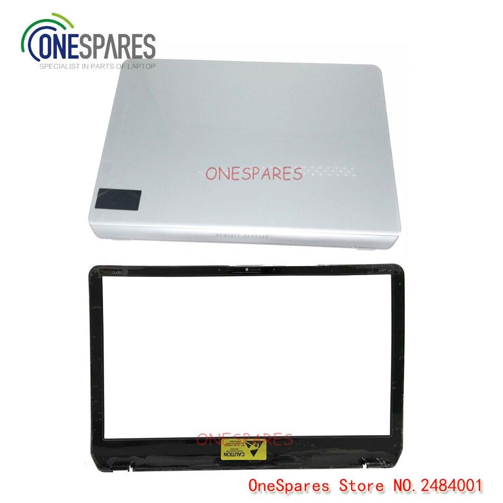 M6-N GENUINE ORIGINAL HP LCD HINGE COVER KIT SILVER ENVY M6-N SERIES