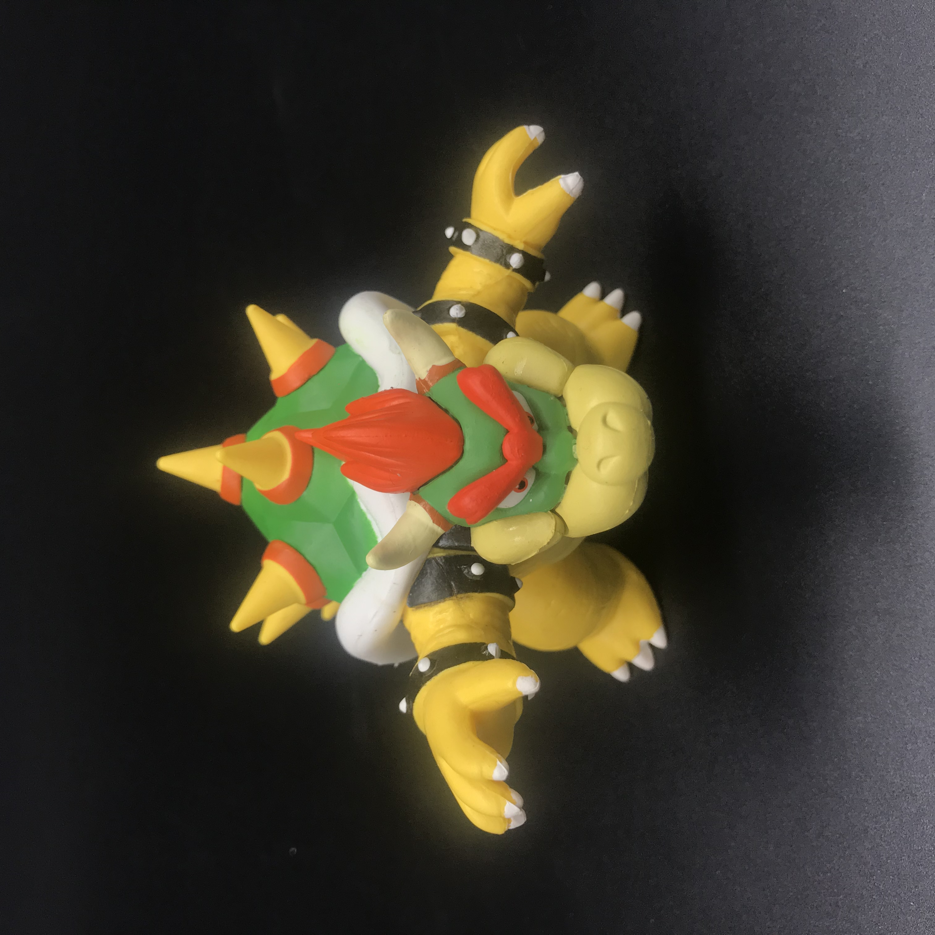 12cm super mario bros bowser model toys pvc figure classic doll for children gifts in Action Toy Figures from Toys Hobbies