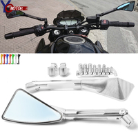 Motorcycle Universal mirror side Rearview For Suzuki katana Bandit Hayabusa SV650 GSR750 kawasaki KTM DUCATI BMW S1000RR HP4