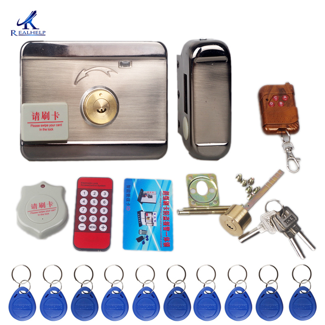 Door Access Control System  Keyless Electronic Door Lock and Swipe Card, Remote control upto 1000 Users