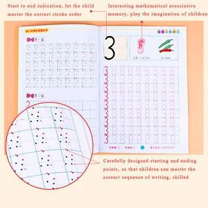Image 4 - Chinesische Zeichen Schreiben Bücher Übung Buch Mit Pinyin Digitale Lernen Chinesische Kinder Erwachsene Anfänger Vorschule Buch Arbeitsbuch