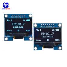 Módulo tela lcd de oled 1.3x64, 128 polegadas, 7 pinos spi/i2c ssh1106, módulo para arduino avr pic stm32,