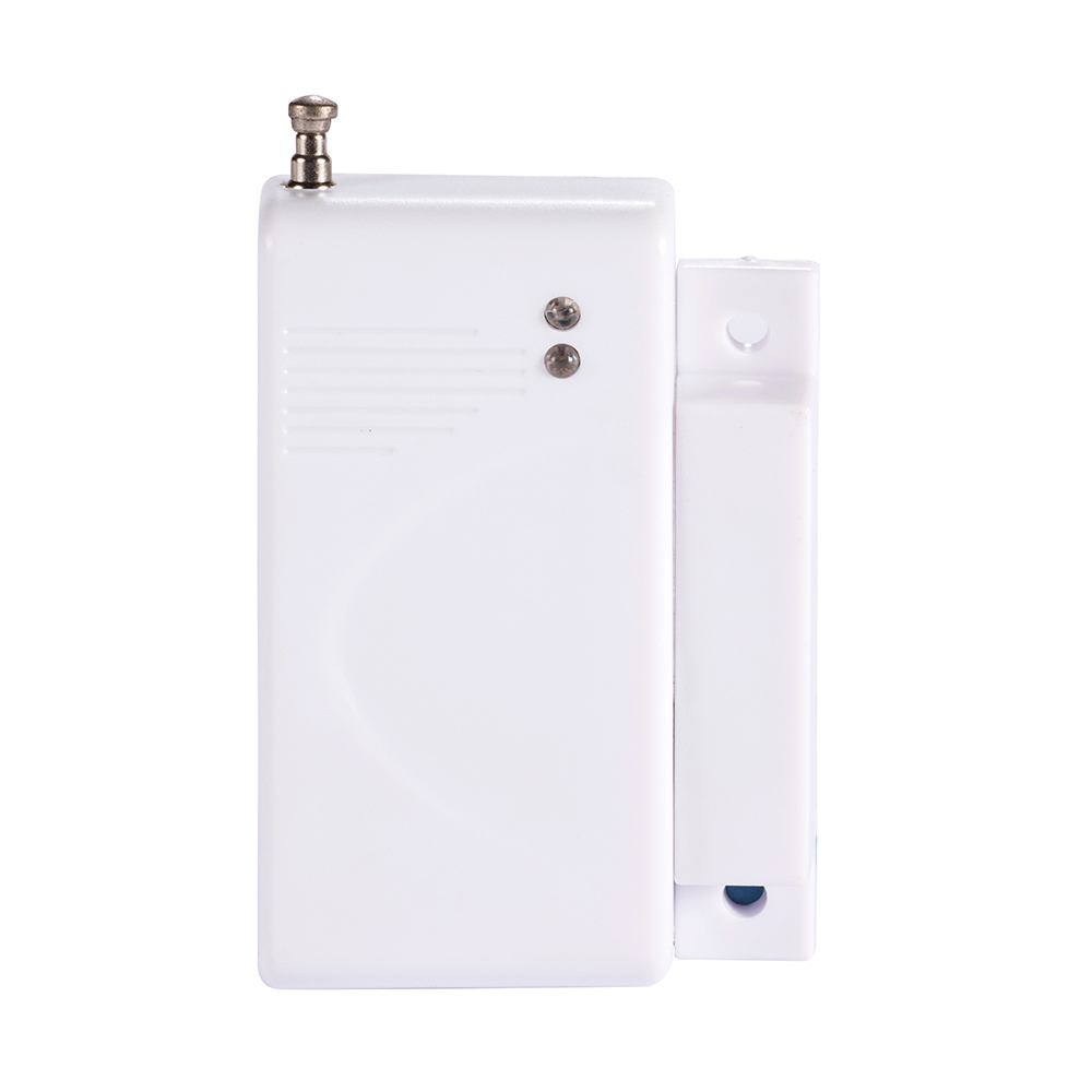 5 PCS 2262 Chip 433MHz Optional Coding Wireless Door Sensor With Jumper Magnetic Switch Home Security Alarm Anti Thief