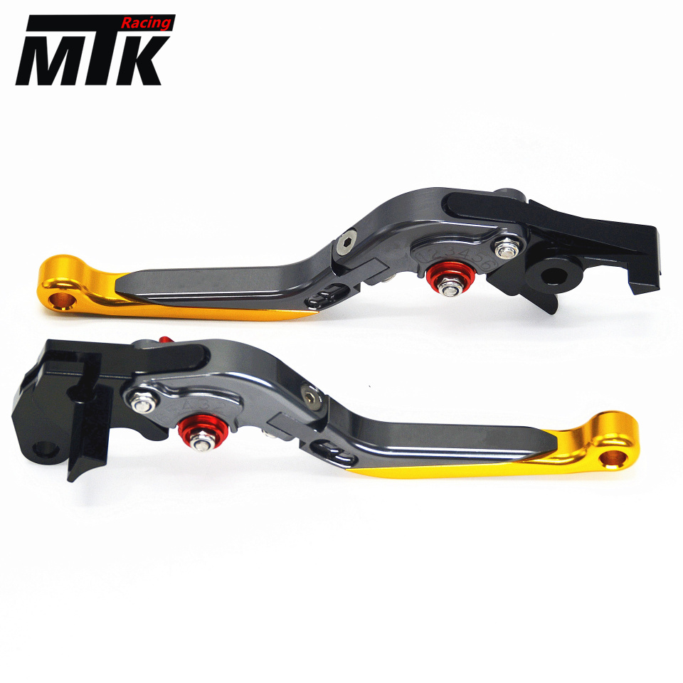 MTKRACING for SUZUKI DL650/V-STROM GSR600 Motorcycle Accessories Adjustable Folding Extendable Brake Clutch Levers Free Shipping