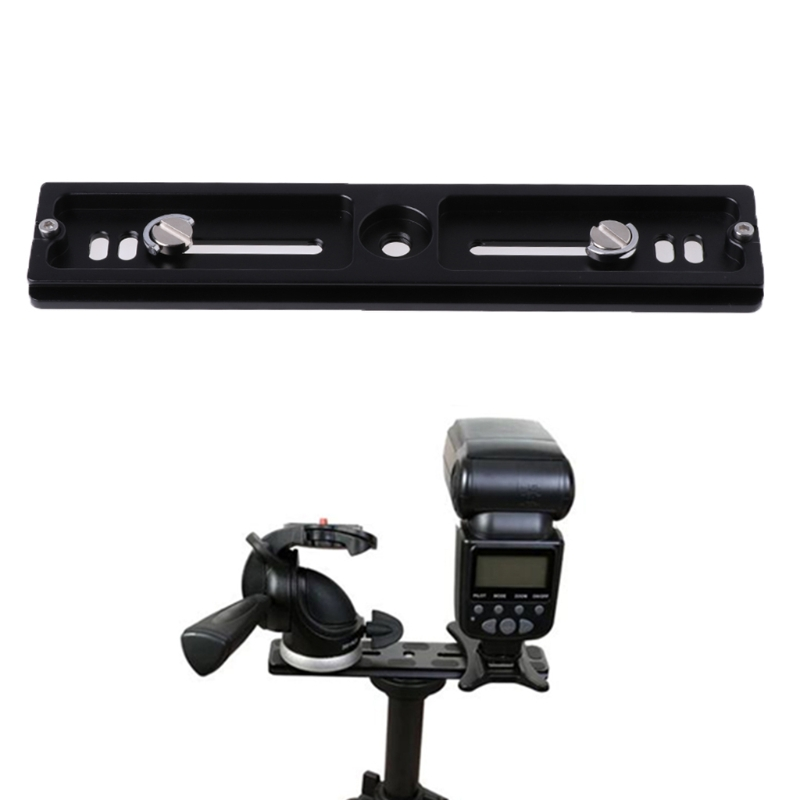 2018 High Quality 2017 PU-200 New Quick Release QR Plate Bracket For Universal Tripod Camera Holder