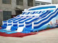 OEM Inflatables toys giant water slide for sale giant inflatable water slide