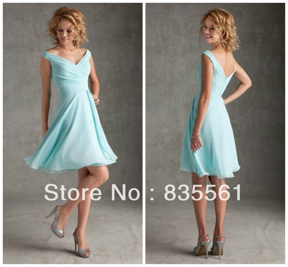 Casual summer bridesmaid dresses image collections braidsmaid casual summer bridesmaid dresses image collections braidsmaid 2014 aqua short bridesmaid dresses chiffon elegant pleats beach ombrellifo Image collections