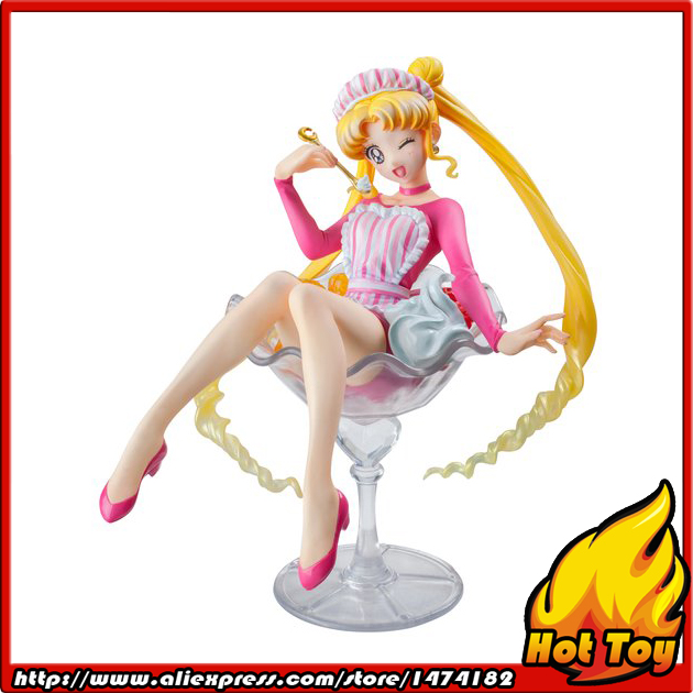 100% Original MegaHouse Sweeties Action Figure - Tsukino Usagi from Sailor Moon sailor moon figures tsukino usagi 20th anniversary pvc action anime cartoon zero pretty guardian collectible toy 21cm