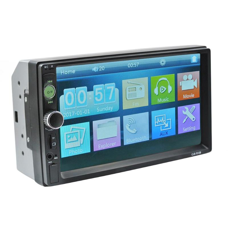 VODOOL Universal 2Din 7 inch Touch Screen Car Stereo MP5 Player FM Radio Bluetooth Handsfree MP3 Audio Support Rear View CameraVODOOL Universal 2Din 7 inch Touch Screen Car Stereo MP5 Player FM Radio Bluetooth Handsfree MP3 Audio Support Rear View Camera