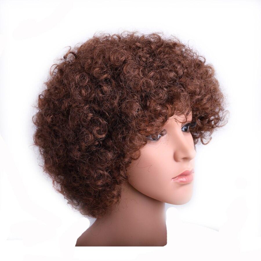mulheres negras salto peruca curl