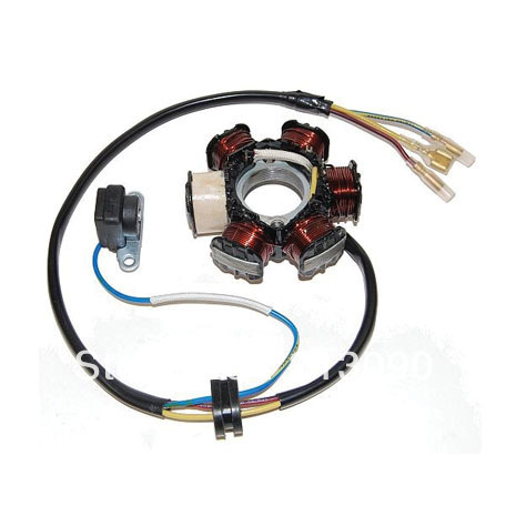 CRF 80F генератора(катушка) Магнитный статор мотоцикла катушки ATV Байк зажигания Запчасти