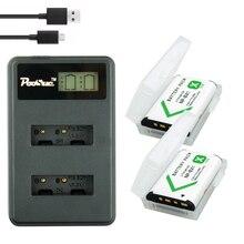 2pcs NPBX1 NP-BX1 NP BX1 Battery Packs + LCD Dual USB Charger for Sony DSC RX1 RX100 AS100V M3 M2 HX300 HX400 HX50 HX60 GWP88