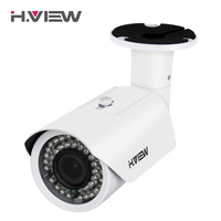 H View IP Camera POE 4mp 2 8 12mm Vari Focal Lens Outdoor CCTV Cameras With