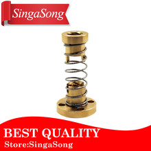 Threaded Rod Lead Screws DIY CNC 3D Printer Parts T8 Anti Backlash Spring Loaded Nut Elimination Gap Nut for 8mm(China)