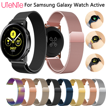 Frontier classic replace strap for Samsung Galaxy Watch Active band for Samsung Gear S2 band For Samsung Galaxy 42mm bracelet 20mm luxury leather strap for samsung gear sport s2 watch band classic frontier wristband for samsung galaxy 42mm bracelet strap