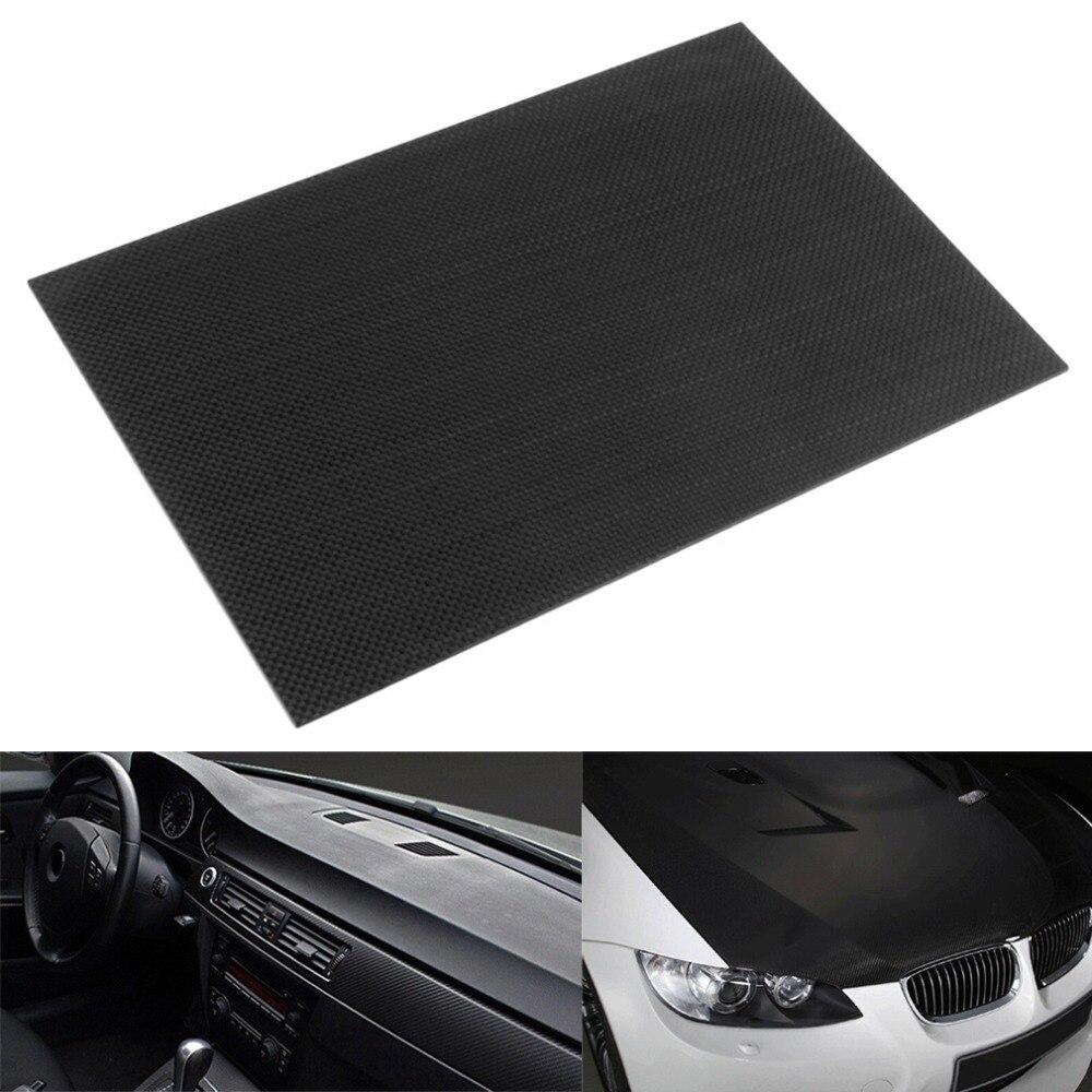 3 Karat Plain Weben 100% Real Carbon Platte/panel/blatt Starren Webart Oberfläche Platte Bord Zubehör
