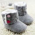 Детская обувь baby girl обувь мода шерстяные детские ботинки малышей девушка обувь теплый хлопок детская обувь девушки
