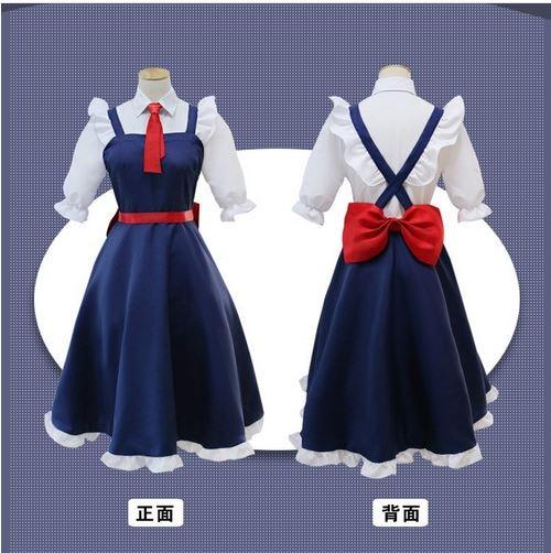 Kobayashi/'s Dragon Tohru Maid dress  cosplay Costume