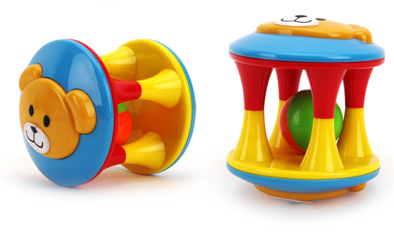Baby Toy Rattles Bell Shaking Dumbells Early Intelligence Development Toys HS