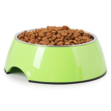 1400ml Pet Bowls 27X9CM Stainless Steel Dog Cat Bowl Universal Water and Food 4 Sizes Colors Available MayT3