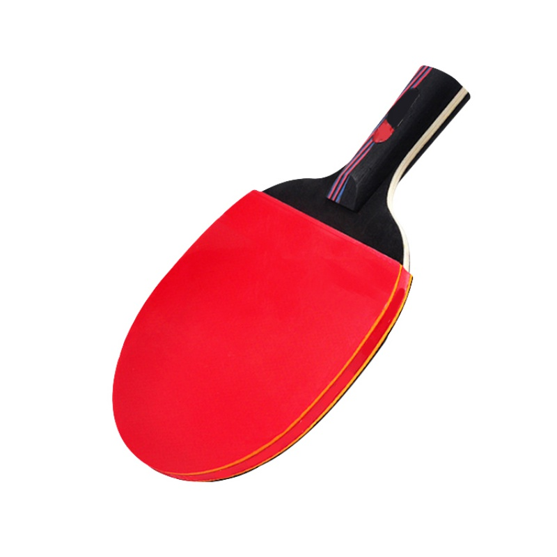 2 Styles Professional Carbon Fiber Table Tennis Racket Blade Rubber With Double Face Pimples-in Ping Pong Rackets High-quality W