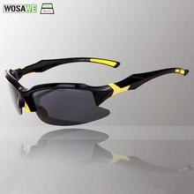 WOLFBIKE Polarized Cycling Glasses UV400 Protect Men Women Sunglasses