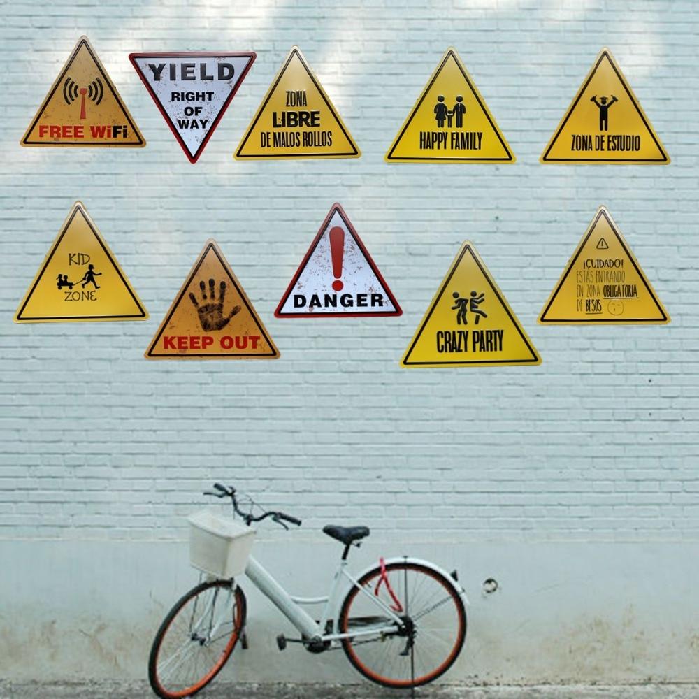 Δωρεάν Wifi Κίνδυνος Μεταλλικά - Διακόσμηση σπιτιού - Φωτογραφία 3