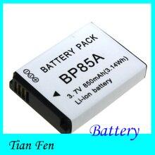 Vente chaude 1 PCS BP85A BP-85A BP 85A Rechargeable Caméra Batterie Pour Samsung ST200 ST200F PL210 WB210 SH100 Gigital Caméra