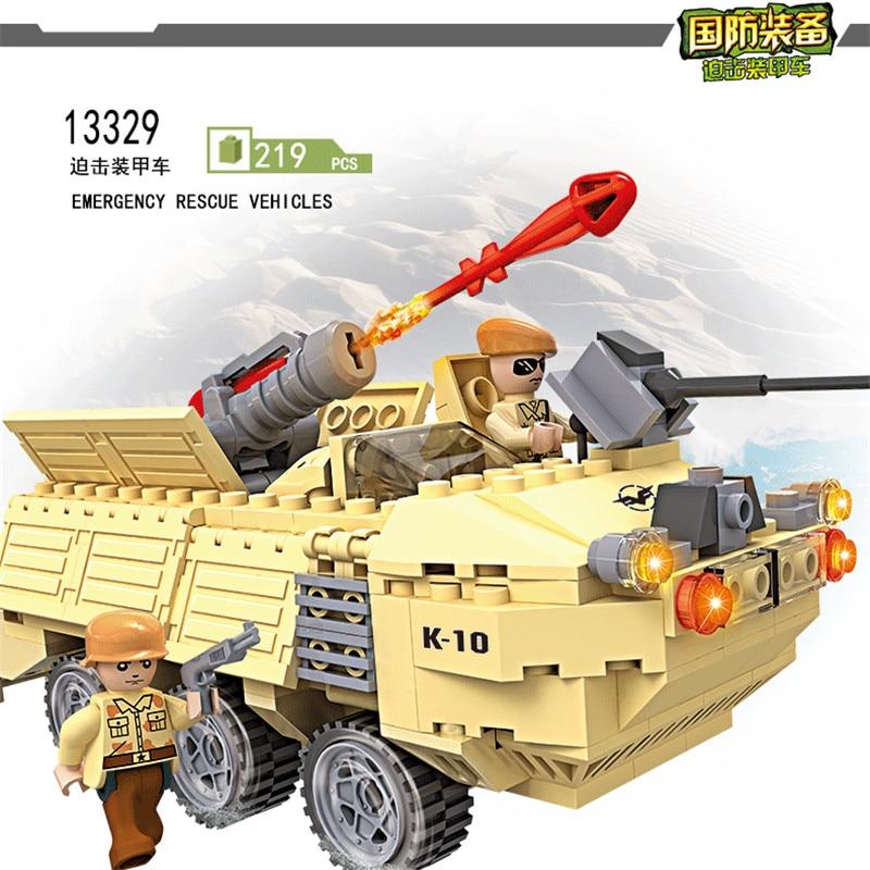 COGO 4 σε 1 Στρατιωτική σειρά θωρακισμένο ελικόπτερο καταστροφέας πλοίο αυτοκίνητο δεξαμενή οχήματος οικοδόμησης μπλοκ εκπαιδευτικό DIY παιχνίδι 13331