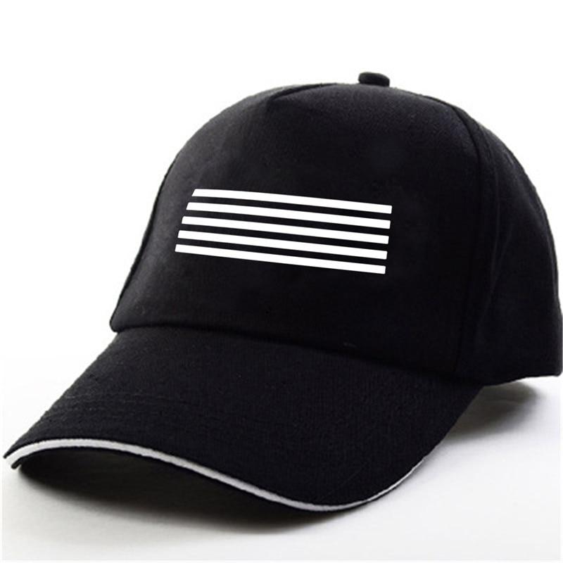 YOUPOP KPOP Bigbang GD G-Dragon Good Boy One Of Kind Made Album Black Baseball Cap Hip-hop Cap Men Women Hats