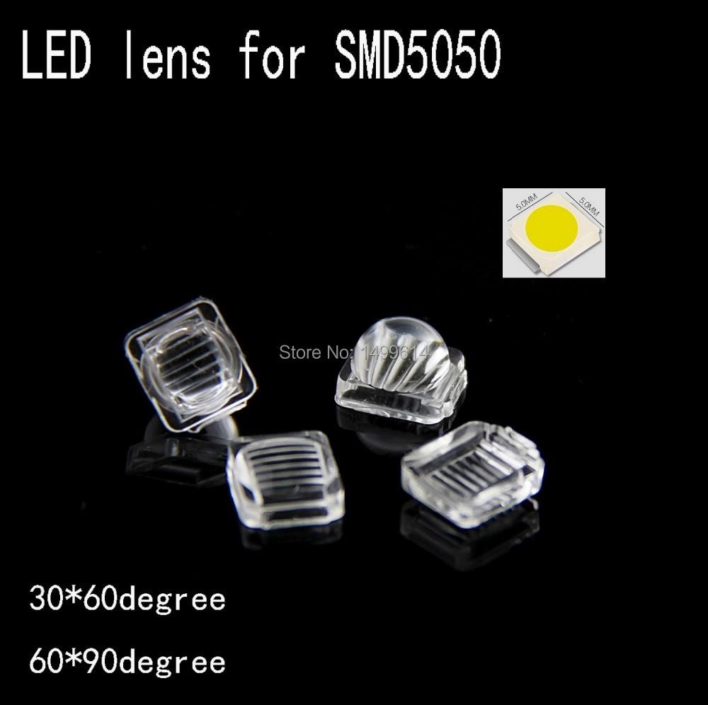 100Pcs PMMA LED Lens 10mm Convex Optical 93/% Light Transmission For SMD 5050