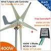 Economy 5 Blades 1 2m Wheel Diameter 400W 12V Or 24V AC Wind Turbine Generator Only