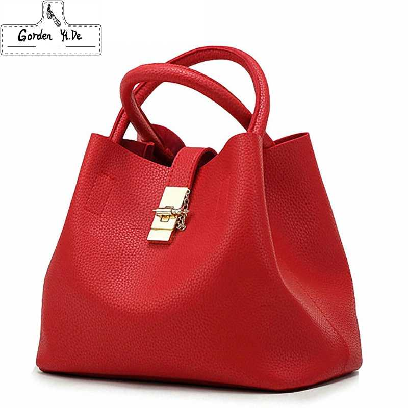 Bolsas femininas 2019 de Moda Famosa Marca de Doces Sacos de Ombro Senhoras Totes Simples Trapézio Mulheres Messenger Bag sac a principal