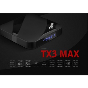 Image 2 - VONTAR Tanix TX3 MAX Smart TV BOX Android 9.0 2GB 16GB BT4.1  Amlogic S905W Quad Core H.265 4K 2.4GHz WiFi TV Player