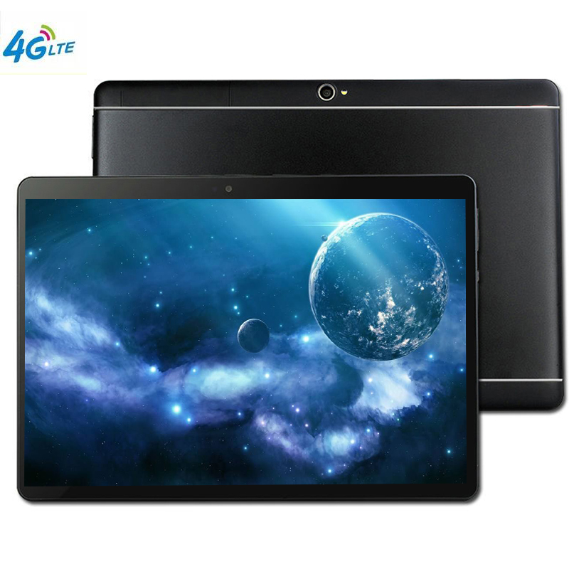 4G LTE 10' Tablet Screen Mutlti Touch Android 9.0 Octa Core Ram 4GB ROM 64GB Camera 8MP SIM Wifi GPS Tablet Pc With Keyboard 109