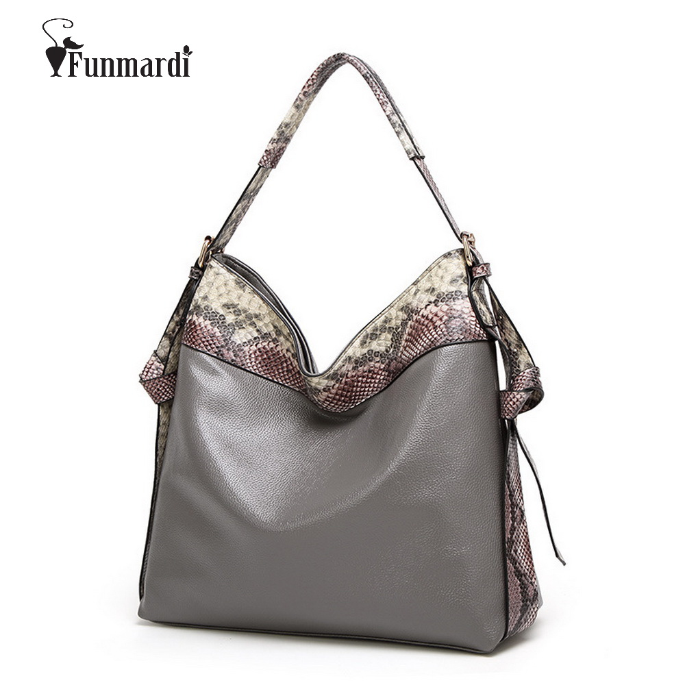 Hot sale Luxury snake print PU Leather women bags Fashion leather handbag Trendy leather Bags star style Shoulder Bag WLHB1496
